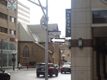 Prince Arthur Avenue and Avenue Road.