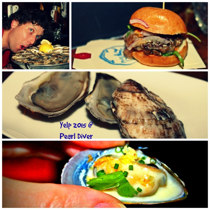 Pearl Diver Collage
