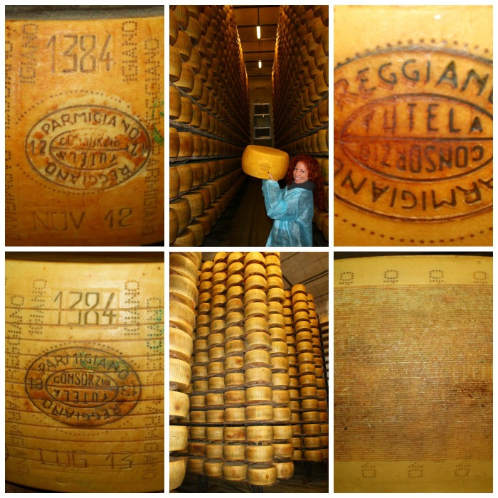 Cheese Factory Collage 4