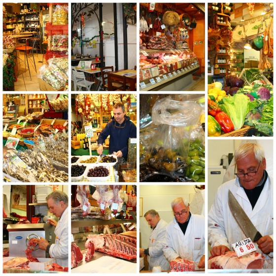 Collage Florence Market