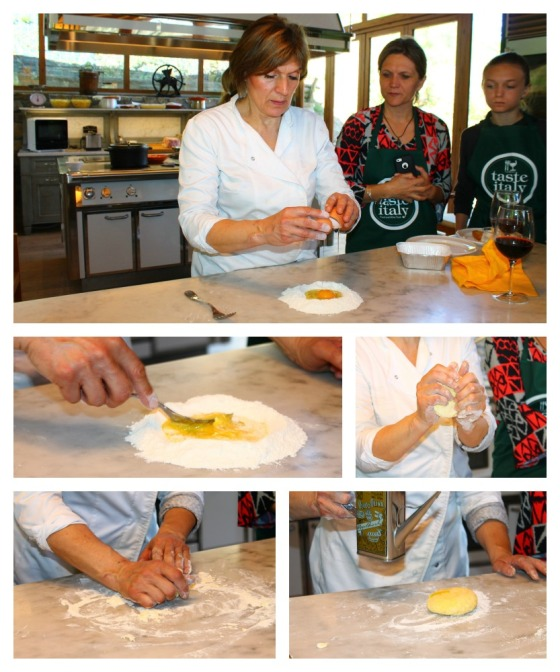 Collage Making Pasta 1