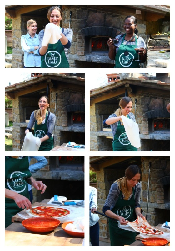 Collage Making Pizza 1