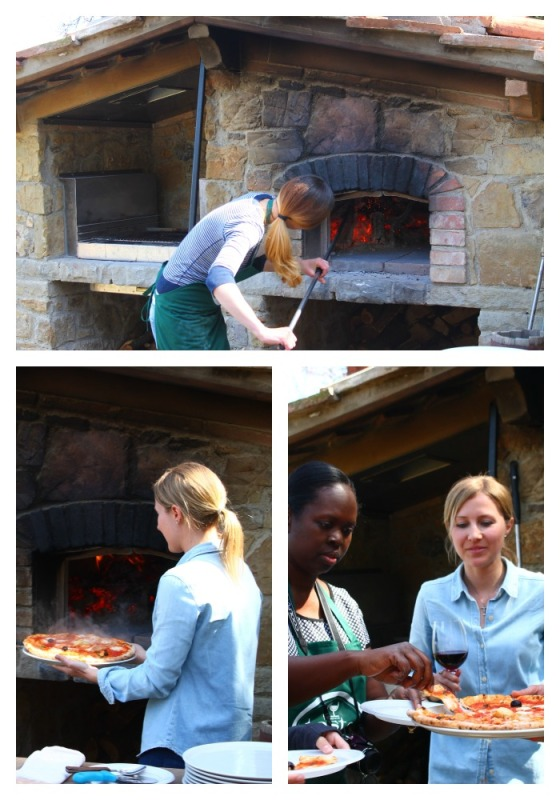 Collage Making Pizza 2