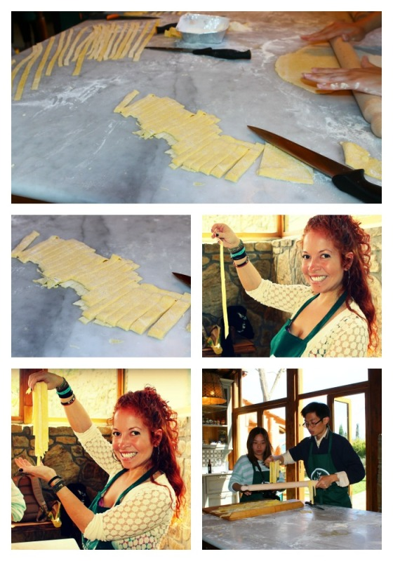 Collage My Turn Making Pasta
